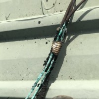 melted solar wiring