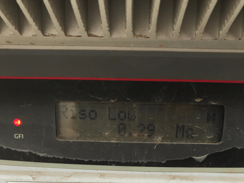 riso low aurora inverter issue