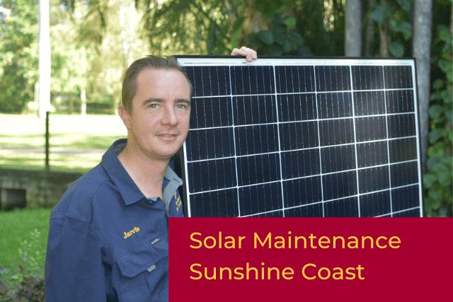 solar maintenance sunshine coast image
